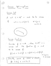 Lecture on Convex Functions