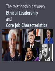 BERS C6 - The relationship between ethical leadership and core job characteristics.pptx