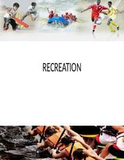 RECREATION-NEW.ppt