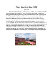 Reds opening day.docx