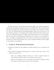 educational investment notes