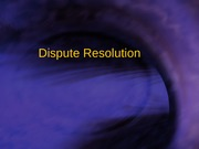 Dispute_ResolutionILRCB205