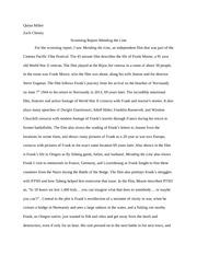 Dirty pretty things film essay