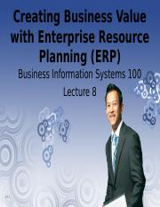 Lecture 08 - CBV with ERP.ppt