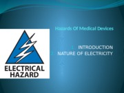 Hazards Of Medical Safety