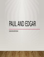 Paul and Edgar.pptx