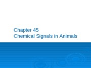 9. Chemical Signals in Animals post