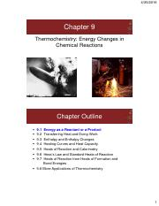 Thermochemistry powerpoint with equations