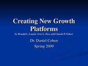 ILRHR4640 Lecture 8- Creating New Growth Platforms