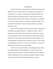 Paper on College Admission Essay