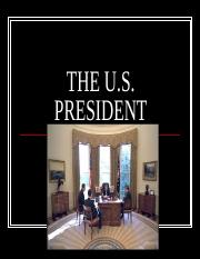 the-us-president-ppt