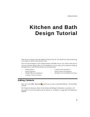 chief-architect-x6-users-guide-kitchen-bath-tutorial