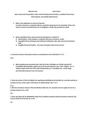 open book quiz Business Law 201.docx
