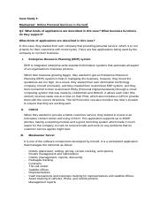 Case Study 1 (IT for Managers).docx