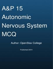 anatomy-physiology-the-autonomic-nervous-system-mcq-exam