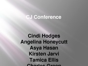 CJ Conference-Individual Part