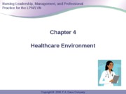 Anderson Leadership & Management in Nursing Powerpoint Fall 2010