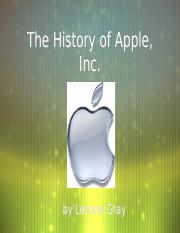 the history of apple.ppt
