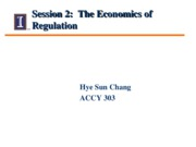 Session 2 - Class Notes - The economics of Regulation0