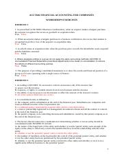 Workshop 9 exercises answers.docx