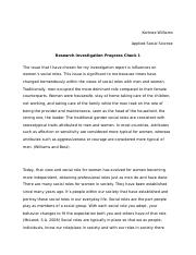 Investigation Part 1 Applied Social Science.docx