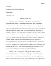 Expressive Writing project.docx