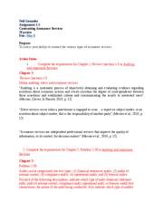 Neil Gonzales, ACCT 470-V2WW, Assignment 1-5 Final