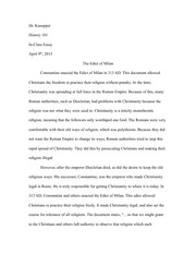 Help with In-Class World History Midterm Essay?