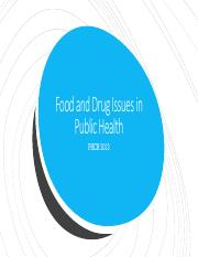 Food and Drug Issues in Public Health.pdf