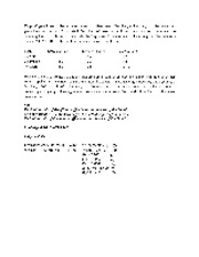In class example solution
