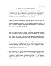 of mice and men 54 essay Free essay: of mice and men similarities and differences between george and  lennie john steinbeck's of mice and men concerns and unlikely couple who.