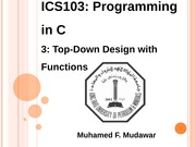 133ICS103_03_TopDownDesignWithFunctions