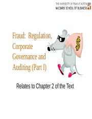 Audit Chapter 2 - Fraud
