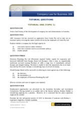 CL266 Tutorial Questions Topic 1(1) (1)