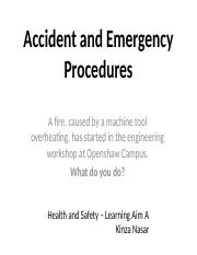 Accident and Emergency Procedures.pptx