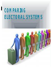 POLS 204 - Electoral Systems-2-1
