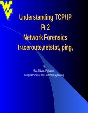 Lecture 03 TCP-IP Pt 2 netstat.ppt