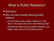 Introduction to Public Relations(1)