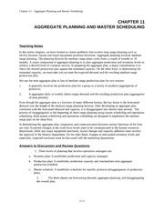 EA435_CLASS NOTES_Ch11.AGGREGATE PLANNING AND MASTER SC (CHAPTER REVIEW)