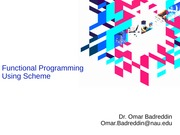 TOPIC D - Functional Programming(1)
