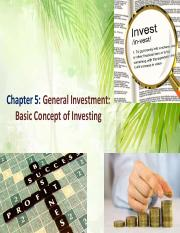 Chapter_5_-_General_Investment_-_Basic_Concept_of_Investing
