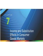 Chapter 7-Income and Substitution Effects in Consumer Goods Markets.pptx