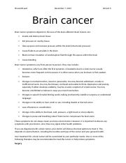 Brian cancer.docx