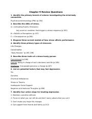 Module 7 Review Questions - Chapter 9.docx