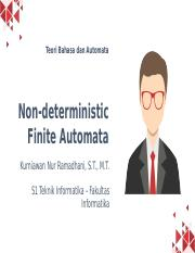 4. Non-deterministic Finite Automata.pptx