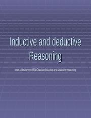 inductiveanddeductivereasoning-111103115311-phpapp02.ppt