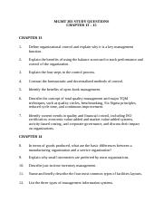 7.MGMT 203 STUDY QUESTIONS Chpter 13-15