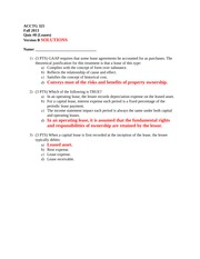 Quiz8_Fall13_VersionB_SOLUTIONS