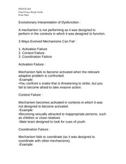 PSYCH 269 Final Exam Study Guide Penn State