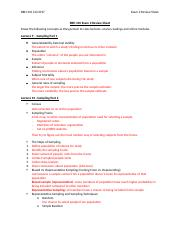 BBH 310 Exam 2 Review Sheet.docx